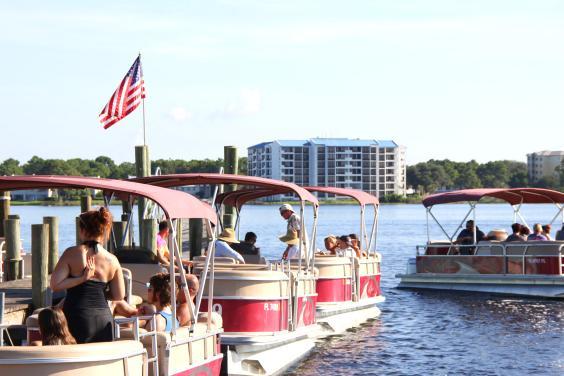 Shell Island Pontoon Boat Rentals