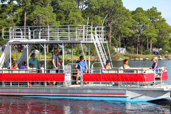Double Decker Pontoon Boat Rentals