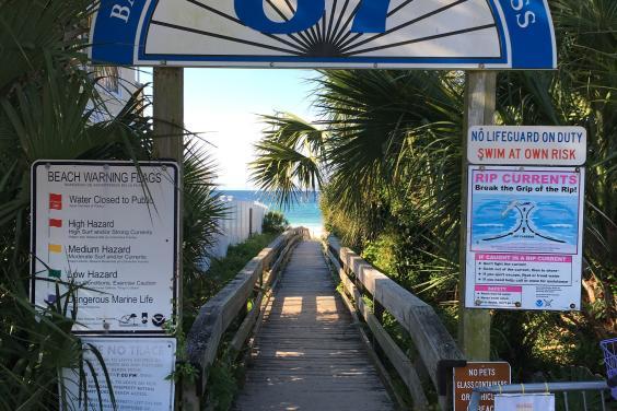 Beach Access 87