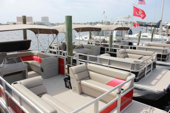 New Pontoon Boats