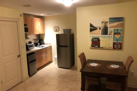 NEW! Only studio with a full size refrigerator!