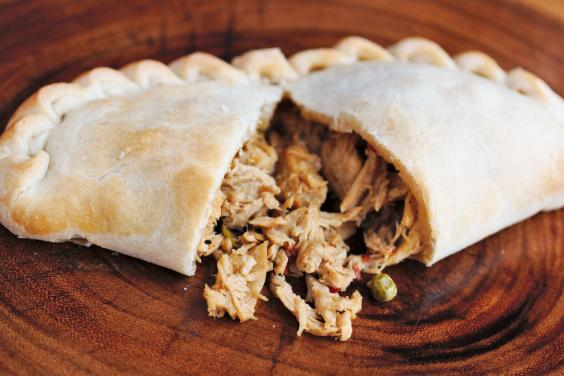 Thai Green Chicken Pasty