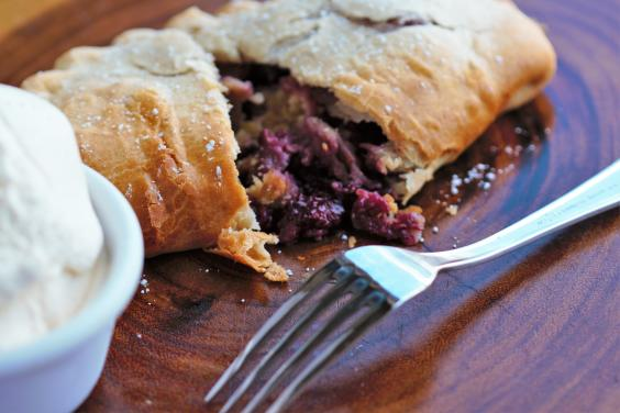 Waffleberry Pasty