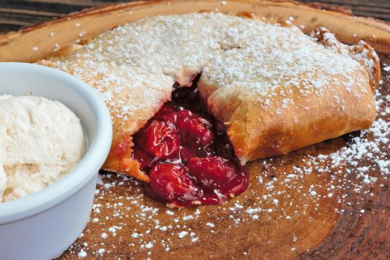 Cherry & White Chocolate Pasty