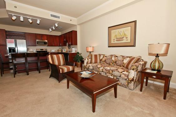 Laketown Wharf Living Area