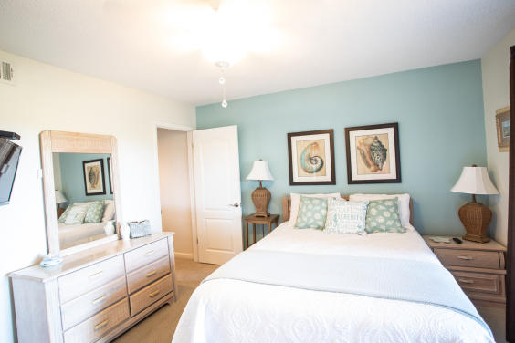 Bright and beautiful Master bedroom with private balcony!