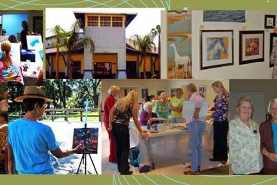 Beach Art Group located inside The Palms Conference Center