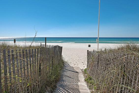 Beach Access from Ocean villa