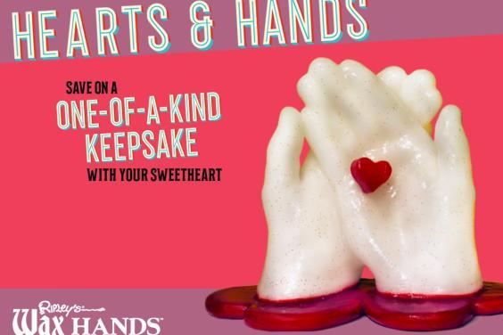 Ripley's Wax Hands