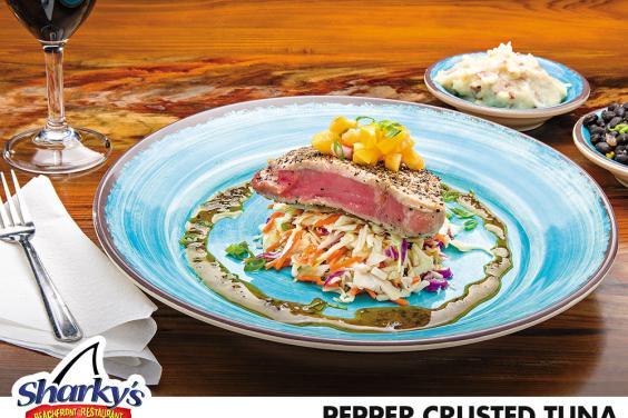 Pepper Crusted Tuna