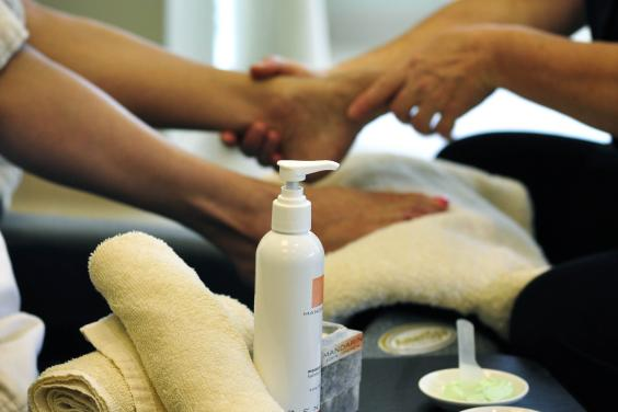 Enjoy the Signature Serenity Pedicure