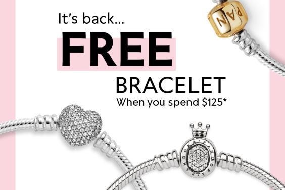 Pandora Bracelet Event Sept 24th to 28th
