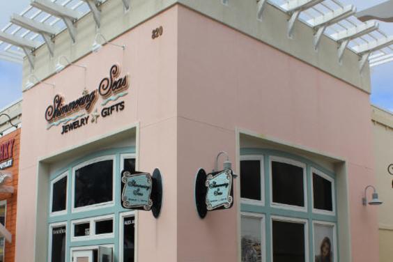 Shimmering Seas Storefront PCB