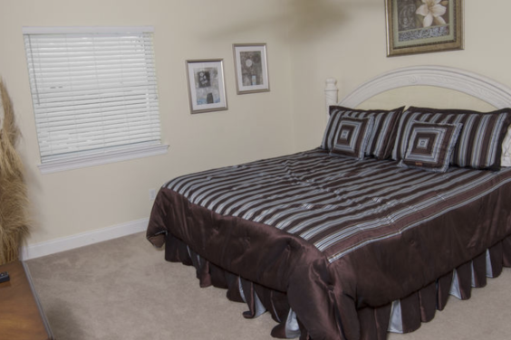 Sixth bedroom is great for relaxing after a day in the sand!