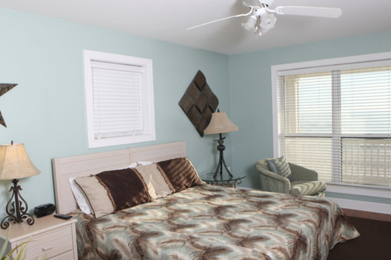 First of TWO Gulf front Master bedrooms on the second floor!