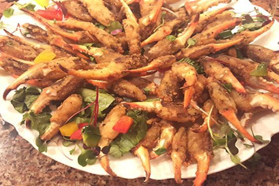 Seafood PCB-Fried Crab Claws-Boar's Head Restaurant