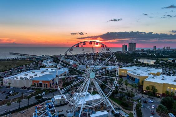 Sunset Views from the SkyWheel