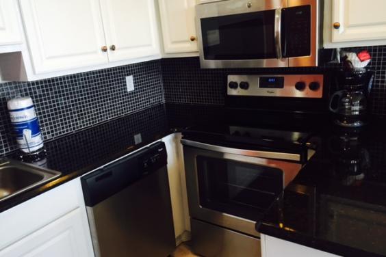 Updated Gourmet kitchen