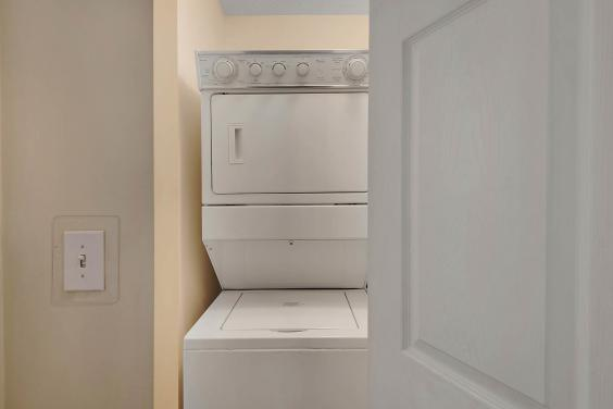 Access to Washer and Dryer Unit 1304 and 1602