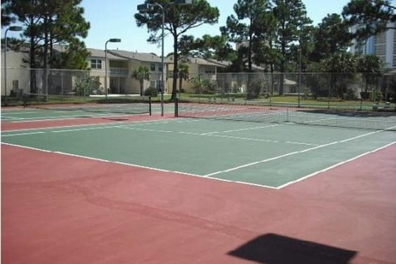 Tennis Courts located in the resort