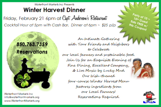 Winter Harvest Dinner Coupon