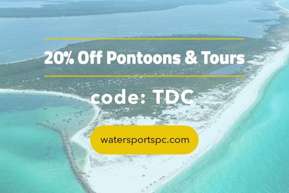 Discounts on Shell Island Pontoon Boats ion Panama City Beach