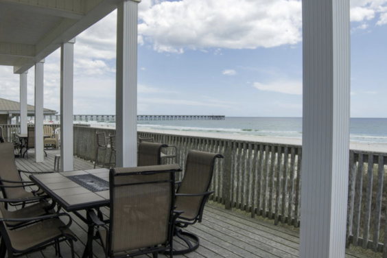 First floor deck gives you amazing views!
