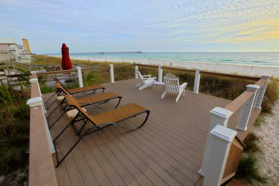 Beachfront Sun Deck