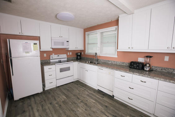Large kitchen is fully equipped to make your favorite meal!