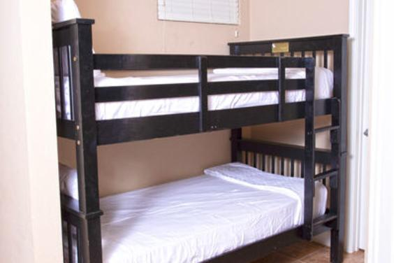 Great bunk area off to the side!