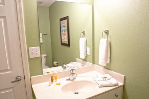 Third bathroom vanity area!