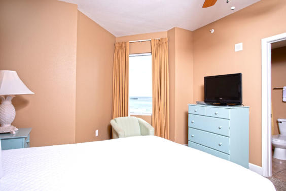 Second bedroom is bright and cozy!
