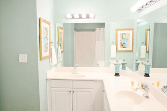 Large, bright Master bathroom!