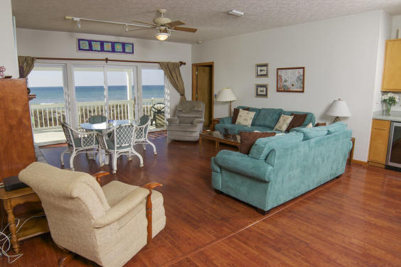 With ample seating, your whole family can enjoy a relaxing evening together!