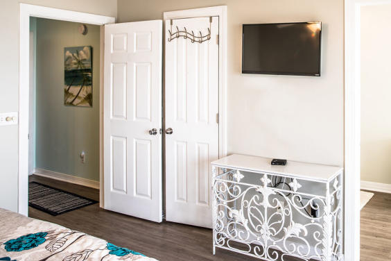 First Master bedroom tv!