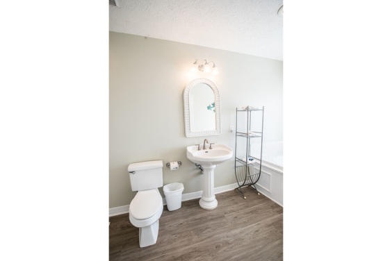 Master Bathroom with Gulf view!