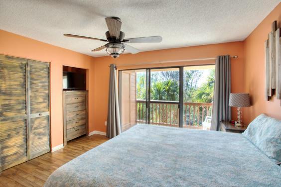 A private balcony awaits you!