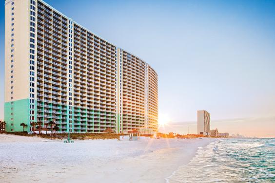 Panama City Beach, FL - Wyndham Vacation Resorts Panama City Beach, Exterior - Beachside