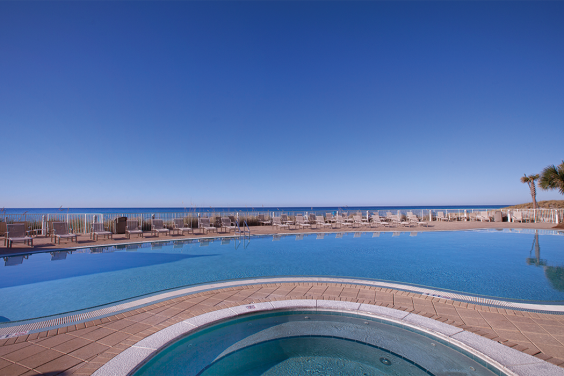 Panama City Beach, FL - Wyndham Vacation Resorts Panama City Beach, Outdoor Hot Tub, Pool & Ocean