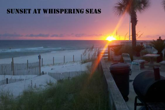 Whispering Seas Sunset
