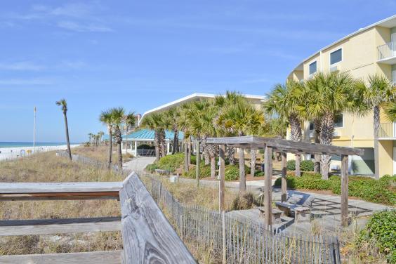 Beach View from Boardwalk