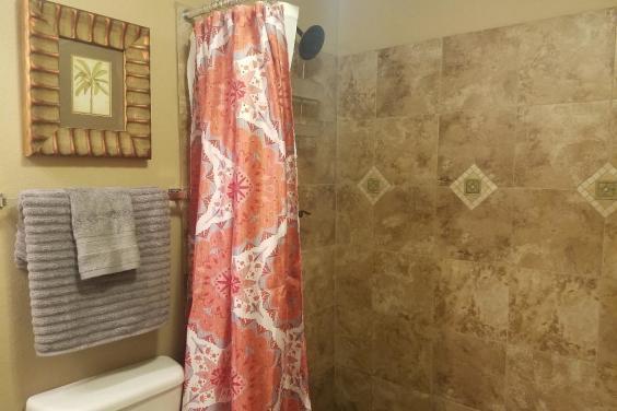 Master Tile Shower.