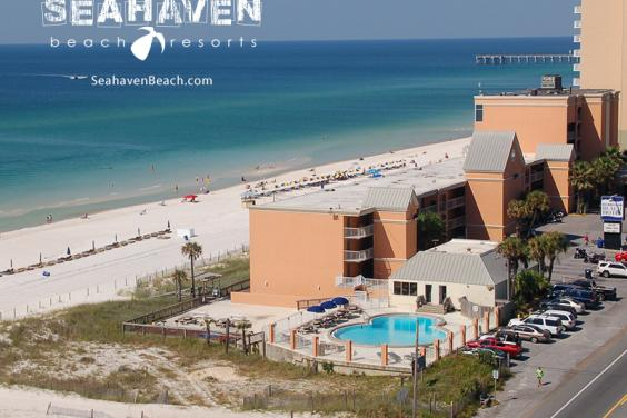 Gulf front accommodations at Seahaven