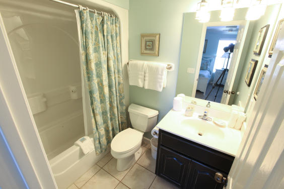 Adjoining Guest Bathroom