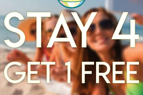 Stay 4 Get One Free!