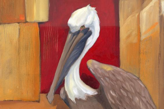 Pelican at Dock