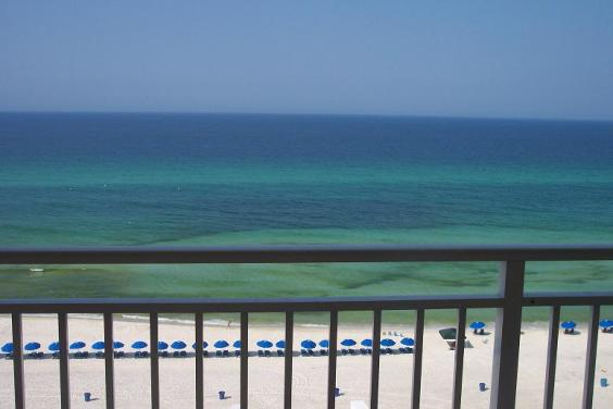 View from Panama City Beach, Florida