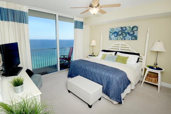 Tidewater Beach Resort, Unit 2215 - Bedroom