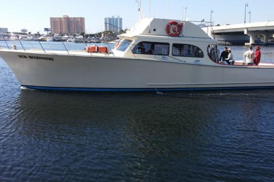 New Beginning charter boat