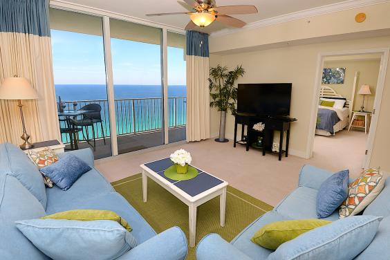 Tidewater Beach Resort #2215 - Living Room